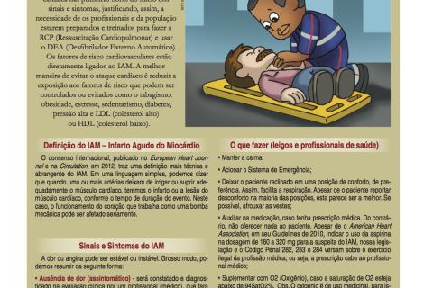 Infarto Agudo do Miocárdio – IAM. Como proceder nestas situações.