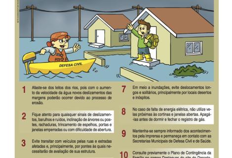 Cuidados em Inundações